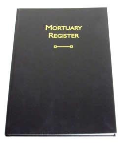 Mortuary Register