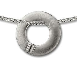 Sterling Silver Detail Ring Pendant (LIMITED STOCK)