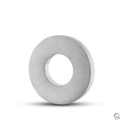 Sterling Silver Plain Ring Pendant