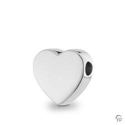 Sterling Silver Heart Slide Pendant