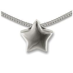 Sterling Silver Star Slide Pendant