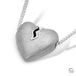 Sterling Silver Heartbreak Slide Pendant
