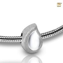 Sterling Silver Teardrop Bracelet Charm (PRICE REDUCED)