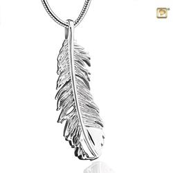Sterling Silver Feather Pendant (PRICE REDUCED)