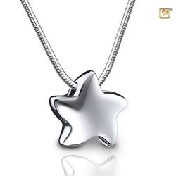 Sterling Silver Sliding Star Pendant (PRICE REDUCED)
