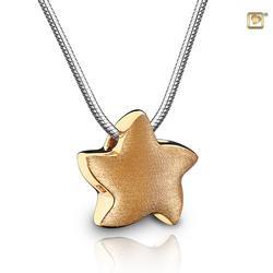 Gold Vermeil Sliding Star Pendant (PRICE REDUCED)