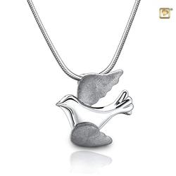 Sterling Silver Dove Pendant (PRICE REDUCED)