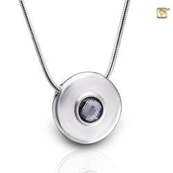 Sterling Silver Round Pendant (PRICE REDUCED)