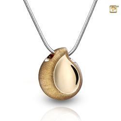 Gold Vermeil Teardrop Pendant (PRICE REDUCED)