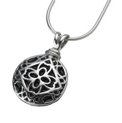 Sterling Silver Filigree Round Pendant (PRICE REDUCED)