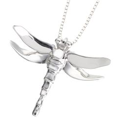 Gold Vermeil Dragonfly Pendant (Does not come with a chain)
