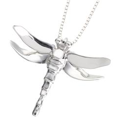 Sterling Silver Dragonfly Pendant