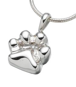 Sterling Silver Animal Paw Pendant (PRICE REDUCED)