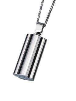 Stainless Steel Narrow Flask Pendant (PRICE REDUCED)