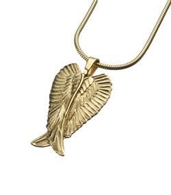 Gold Vermeil Angel Wings Pendant