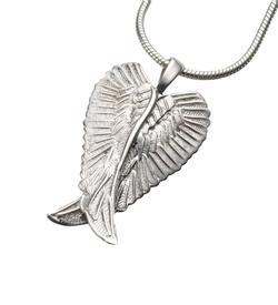 Sterling Silver Angel Wings Pendant