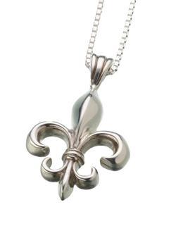 Sterling Silver Fleur de Lys Pendant (PRICE REDUCED)