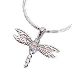 Sterling Silver Small Dragonfly Pendant (PRICE REDUCED)