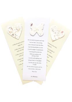 Seed Paper Memorial Bookmarks