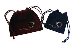 Personalised Suedette Jewellery Pouch (Medium)