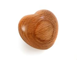 Wooden Keepske Heart
