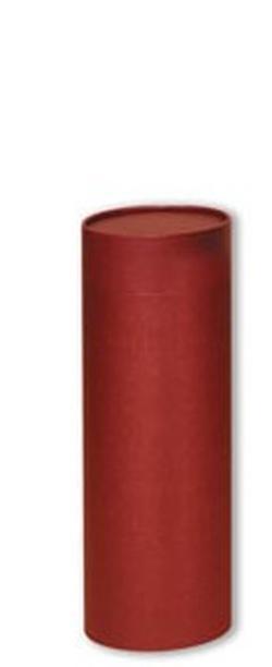 Medium Scattering Tube - Burgundy