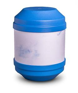 Biodegradable Urn with Writable Surface (Blue)