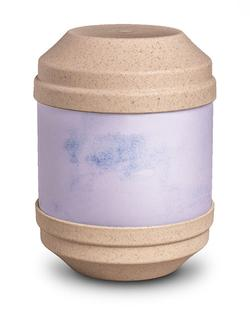 Biodegradable Urn with Writable Surface (Light Stone)