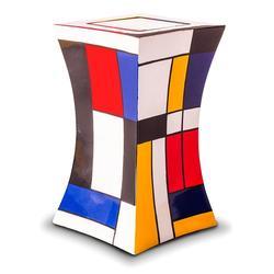 Small Glass Fibre Urn (Lantern Design in Multicolour)