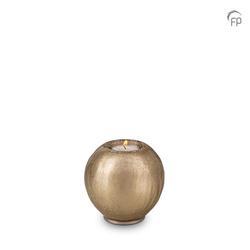 Round Candleholder Crystal Keepsake (Bronze)
