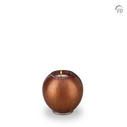 Round Candleholder Crystal Keepsake (Copper)