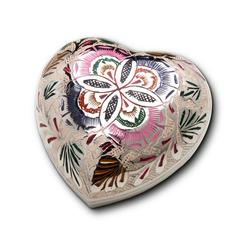 HEART KEEPSAKE - SILVER PLATE ENGRAVING (CLEARANCE ITEM. LIMITED STOCK)