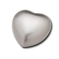 Keepsake Heart (Brushed Silver)