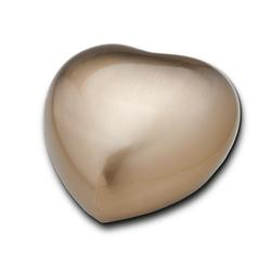 Keepsake Heart (Brushed Gold)