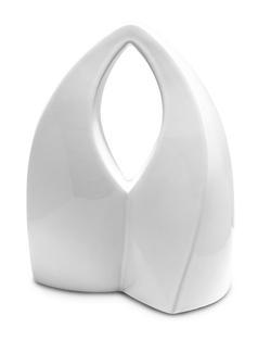 Medium Ceramic Urn (White)