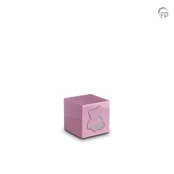 MDF Urn (Pink with Teddy Bear Motif)