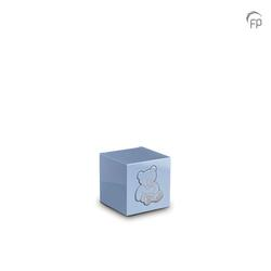 MDF Urn (Blue with Teddy Bear Motif)