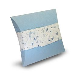 Biodegradable Urn (Pillow Style - Blue)
