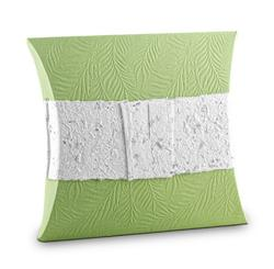 Biodegradable Urn (Pillow Style - Green)