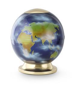 Steel Globe - Earth