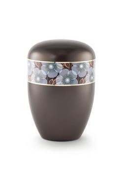 Arboform Urn (Flower Border - Chocolate