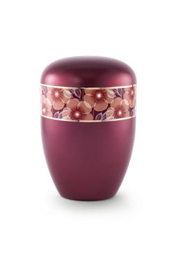 Arboform Urn (Flower Border - Burgundy)