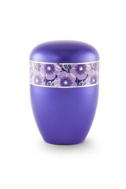 Arboform Urn (Flower Border - Violet)