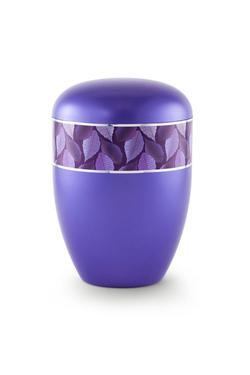 Arboform Urn (Leaf Border - Violet)