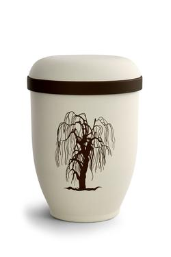 Arboform Urn (Natural Stone with Willow Design)