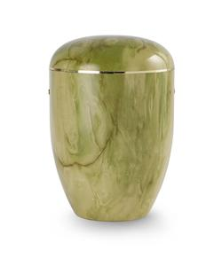 Arboform Urn - Green Onyx Finish