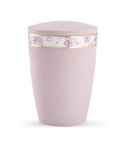 Arboform Urn - Pastell Edition - Rose with Rose Border