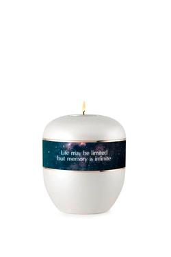 Shaw's Exclusive Candle Holder Keepsake Urn