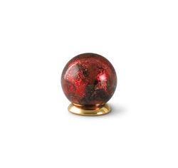Glass Globe Keepsake - Red
