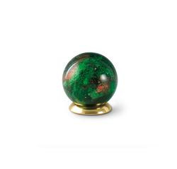 Glass Globe Keepsake - Green